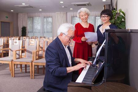 分类图片 温江社区养老:长者生活中潮流时尚高地